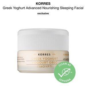 •Korres• Greek Yoghurt Nourishing Sleeping Facial